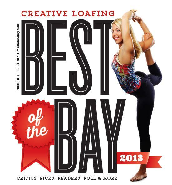 Ashley on Cover creative Loafing