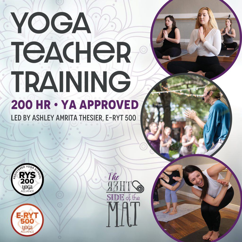 200 hour approved yoga teacher training